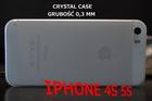 ETUI CRYSTAL CASE PRZEŹROCZYSTE IPHONE 4 4S 5 5S (2)