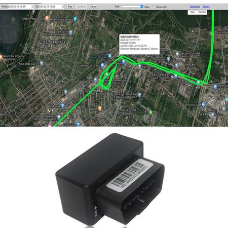 LOKALIZATOR GPS OBD SERWER PL APP PODSŁUCH SIM GSM ANDROID IOS  (1)