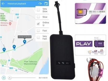 LOKALIZATOR GPS SERWER WWW POLSKA KARTA SIM ROK 0ZŁ (1)
