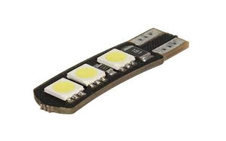 T10 W5W POSTOJÓWKA LED CANBUS CAN BUS 6 SMD 5050 (1)